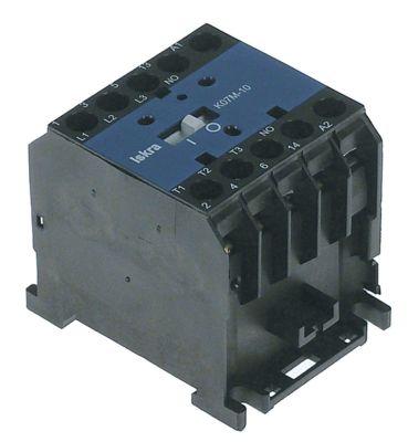 ρελέ ισχύος ωμικό φορτίο 20A 400VAC  (AC3/400V) 8,5A/5,5 kW κύριες επαφές 3NO