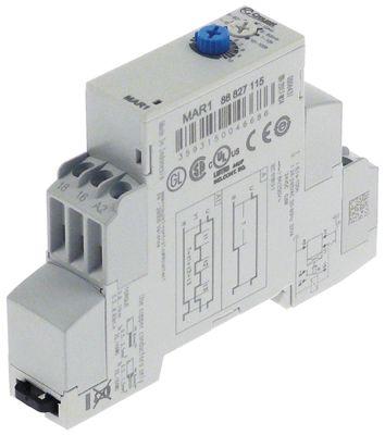 χρονικό CROUZET  MAR1-88826115  χρονικό εύρος 0,1s-100h  24-240VAC/24-48VDC  8A