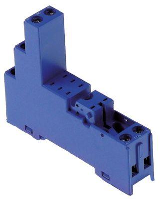 υποδοχή ρελέ 2CO  40.52  διαστάσεις 81,9x15,5x75 mm 250V τάση AC  10A