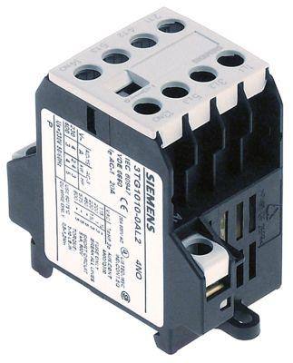 ρελέ ισχύος ωμικό φορτίο 20A 230VAC  (AC3/400V) 8,4A/4 kW κύριες επαφές 3NO