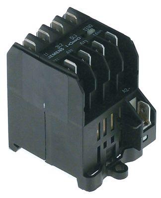 ρελέ ισχύος ωμικό φορτίο 16A 230VAC  (AC3/400V) 8,4A/4 kW κύριες επαφές 4NO