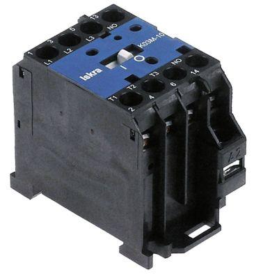 ρελέ ισχύος ωμικό φορτίο 20A 230VAC  (AC3/400V) 5A/2,2 kW κύριες επαφές 3NO