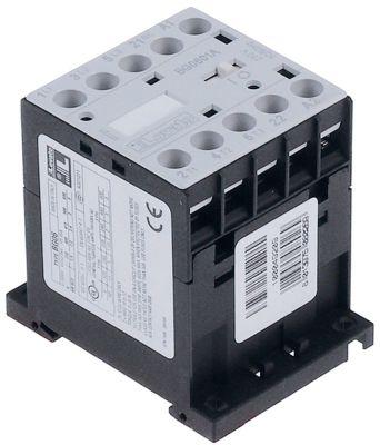 ρελέ ισχύος ωμικό φορτίο 20A 230VAC  (AC3/400V) 9A/4 kW κύριες επαφές 2NO