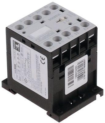 ρελέ ισχύος ωμικό φορτίο 20A 24VAC  (AC3/400V) 9A/4 kW κύριες επαφές 3NO