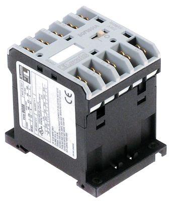 ρελέ ισχύος ωμικό φορτίο 20A 230VAC  (AC3/400V) 9A/4 kW κύριες επαφές 4NO