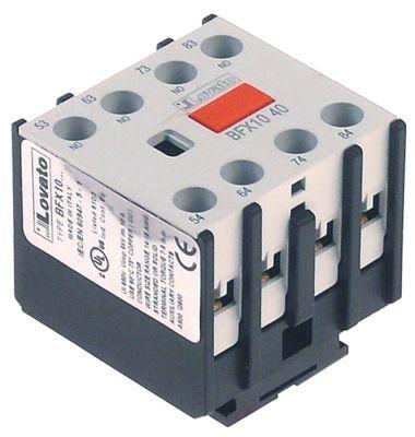 ρελέ επαφές 2NO/2NC  AC1 10A για επαφείς σειρά BF σύνδεσμος βίδα τύπος BFX1022