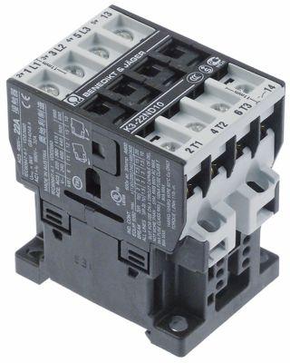 ρελέ ισχύος ωμικό φορτίο 45A 24VAC  (AC3/400V) 11kW κύριες επαφές 3