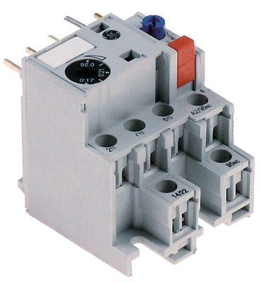 διακόπτης υπερφόρτωσης εύρος ρύθμισης 0,26-0,43 A τύπος B/F  για επαφείς LS02K/LS07/LS05/LS06K