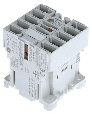 επαφή ωμικό φορτίο 16A 230VAC  (AC3/400V) 9A/4 kW κύριες επαφές 3NO  βοηθητικές επαφές 1NC