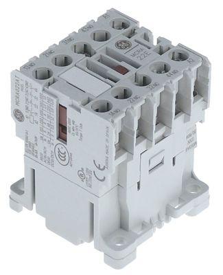 ρελέ επαφής 230VAC  AC15 4A AC1 16A βοηθητικές επαφές 2NC  κύριες επαφές 2NO