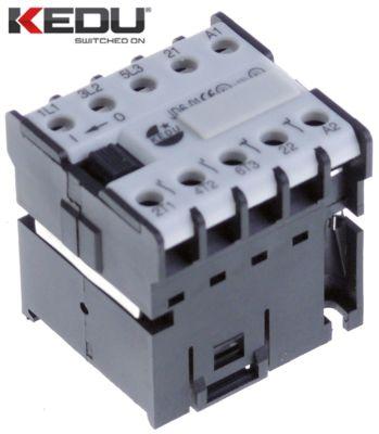 ρελέ ισχύος ωμικό φορτίο 16A 230VAC  (AC3/400V) 6,1A/2,2 kW κύριες επαφές 3NO