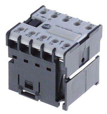 επαφή ωμικό φορτίο 16A 230VAC  (AC3/400V) 6,1A/2,2 kW κύριες επαφές 2NO/2NC