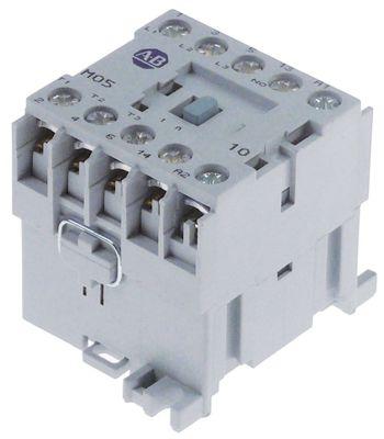 ρελέ ισχύος ωμικό φορτίο 20A 400VAC  (AC3/400V) 2,5kW κύριες επαφές 3NO