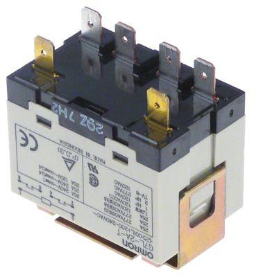 ρελέ ισχύος 25A 2NO  σύνδεσμος αρσενικό εξάρτημα 6,3mm 240V τάση AC
