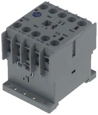 ρελέ ισχύος ωμικό φορτίο 20A 230VAC  (AC3/400V) 5,3A/2,2 kW κύριες επαφές 3NO