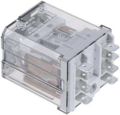 ρελέ FINDER  230VAC  16A 2CO  σύνδεσμος F6,3  αρ. κατασκευαστή 62.82.8.230.0009  250V 2-πόλοι