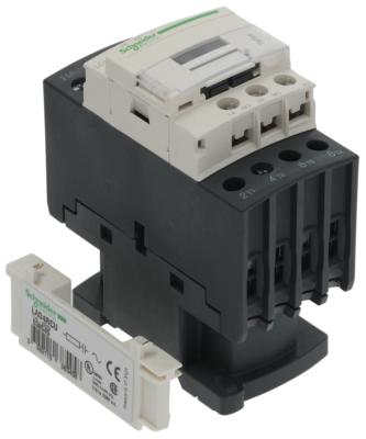 ρελέ ισχύος ωμικό φορτίο 40A 230VAC  (AC3/400V) 25A/11 kW κύριες επαφές 4NO