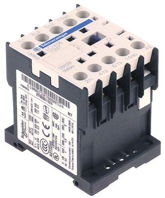ρελέ ισχύος ωμικό φορτίο 20A 230VAC  (AC3/400V) 12A/5,5 kW κύριες επαφές 4NO