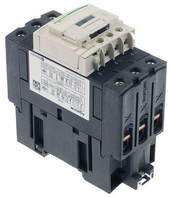 ρελέ ισχύος ωμικό φορτίο 80A 230VAC  (AC3/400V) 50A/22 kW κύριες επαφές 3NO