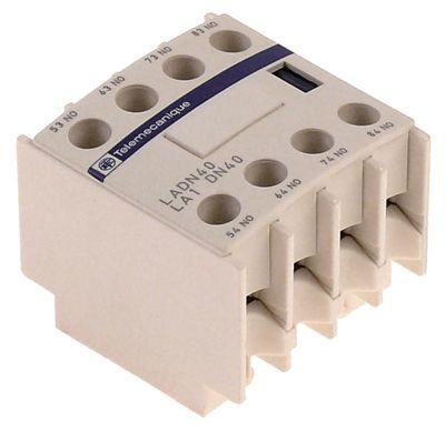 ρελέ επαφές 3NO/1NC  AC15 10A για επαφείς LC1D  σύνδεσμος βίδα τύπος LADN31