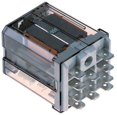 ρελέ FINDER  230VAC  16A 3CO  σύνδεσμος F6,3  σύνδεση plug-in αρ. κατασκευαστή 62.83.8.230.4009