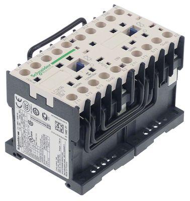 ρελέ ισχύος ωμικό φορτίο 20A 230VAC  (AC3/400V) 6A/2,2 kW κύριες επαφές 2x3NO