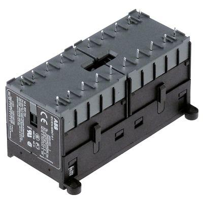 ρελέ ισχύος ωμικό φορτίο 20A 24VAC  (AC3/400V) 12A/5,5 kW κύριες επαφές 2x3NO