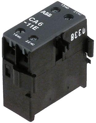 ρελέ επαφές 1NO/1NC  AC1 6A AC15 3A σύνδεσμος βιδωτή σύνδεση για επαφείς B6/B7/VB7