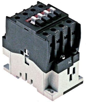 ρελέ ισχύος ωμικό φορτίο 45A 24VAC  (AC3/400V) 26A/11 kW κύριες επαφές 3NO