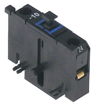 ρελέ επαφές 1NO  AC15 4A για επαφείς KNL22/KNL30  σύνδεσμος βιδωτή σύνδεση τύπος Fanal  -