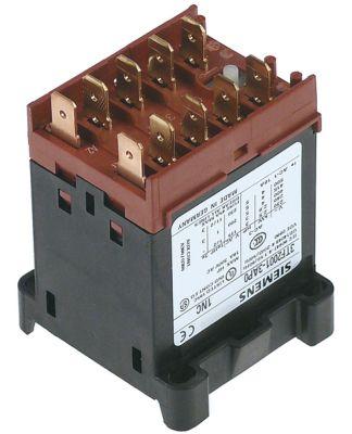 ρελέ ισχύος ωμικό φορτίο 16A 230VAC  (AC3/400V) 9A/4 kW κύριες επαφές 3NO