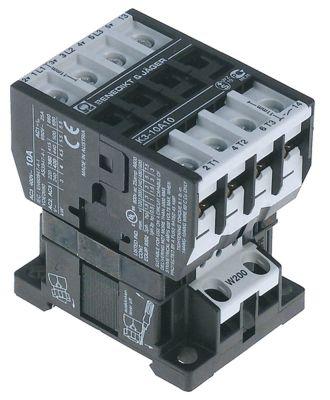ρελέ ισχύος ωμικό φορτίο 25A 230VAC  (AC3/400V) 14A/5,5 kW κύριες επαφές 4NO