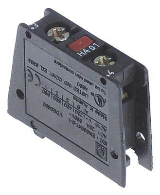 ρελέ επαφές 1NC  AC15 10A για επαφείς K2/K5  σύνδεσμος βίδα τύπος HA01  AC1 25A