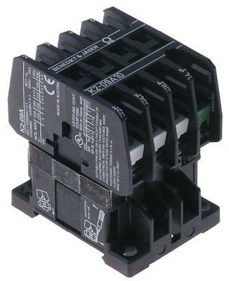 ρελέ ισχύος ωμικό φορτίο 25A 230VAC  (AC3/400V) 16A/7,5 kW κύριες επαφές 3NO