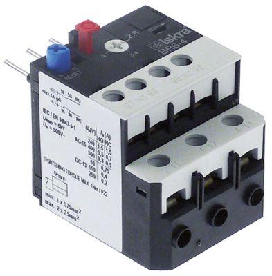 διακόπτης υπερφόρτωσης εύρος ρύθμισης 2,8-4 A τύπος BR6  για επαφείς K07C/K07M