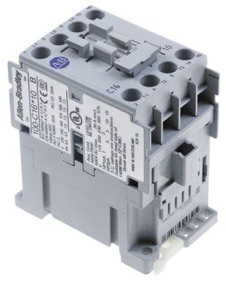 ρελέ ισχύος ωμικό φορτίο 32A 230VAC  (AC3/400V) 16A/7,5 kW κύριες επαφές 3NO