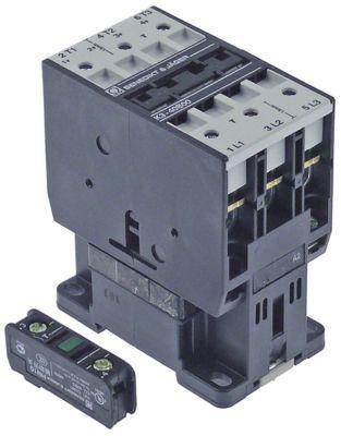 ρελέ ισχύος ωμικό φορτίο 80A 230VAC  (AC3/400V) 40A/18,5 kW κύριες επαφές 3NO