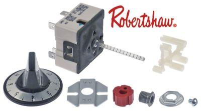 ζημενστάτης ROBERTSHAW  σειρά 240V 15A μονού κυκλώματος κατεύθυνση περιστροφής αριστερά
