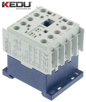 ρελέ ισχύος ωμικό φορτίο 20A 240VAC  (AC3/400V) 9A/4 kW κύριες επαφές 3NO
