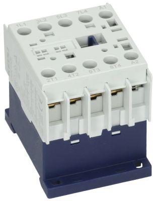 ρελέ ισχύος ωμικό φορτίο 20A 240VAC  (AC3/400V) 9A/4 kW κύριες επαφές 4NO