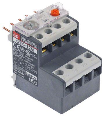 διακόπτης προστασίας μοτέρ εύρος ρύθμισης 1,6-2,5 A τύπος GTK-12M