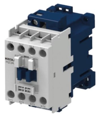ρελέ ισχύος ωμικό φορτίο 32A 240VAC  (AC3/400V) 16A/7,5 kW κύριες επαφές 4NO