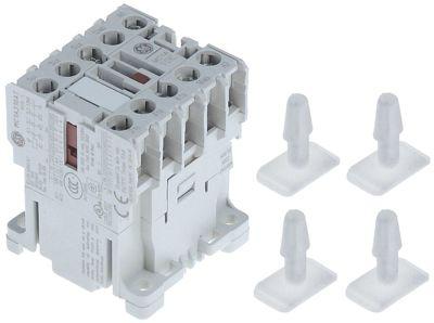ρελέ ισχύος ωμικό φορτίο 20A 230VAC  (AC3/400V) 8,4A/4 kW κύριες επαφές 4NO