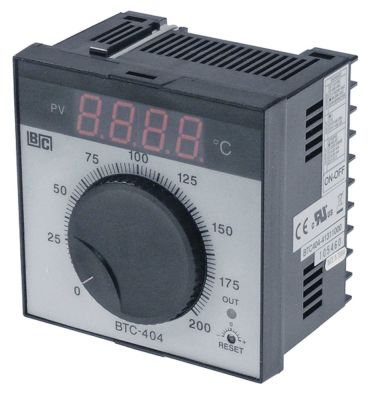 ηλεκτρονικός ελεγκτής BRAINCHILD  τύπος BTC404  μοντέλο 41311000 0 έως +200°C