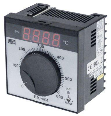 ηλεκτρονικός ελεγκτής BRAINCHILD  τύπος BTC404  μοντέλο 43611000 0 έως +600°C