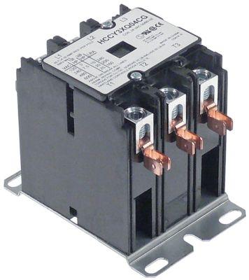 ρελέ ισχύος ωμικό φορτίο 50A 24VAC  40A/10 HP (AC3/240V) 40A/7,46 kW κύριες επαφές 3NO