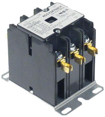 ρελέ ισχύος ωμικό φορτίο 40A 120VAC  30A/10 HP (AC3/240V) 30A/7,46 kW κύριες επαφές 3NO