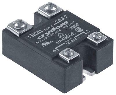 ρελέ CRYDOM  φάσεις 1 50A 480V 18-36 VAC  Μ 57mm W 45mm βίδα τύπος HA4850E