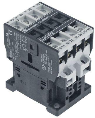 ρελέ επαφής 220/240VAC  AC15 2A AC1 10A τύπος K3-07ND40  επαφές 4NO