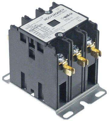 ρελέ ισχύος ωμικό φορτίο 40A 24VAC  30A/10 HP (AC3/240V) 30A/7,46 kW κύριες επαφές 3NO